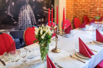 обоя интерьер, декор,  отделка,  сервировка, посуда, цветы, розы, праздник, сервировка, кафе