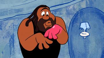 обоя мультфильмы, the flintstones, мужчина