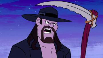 обоя мультфильмы, the flintstones, мужчина, коса, шляпа