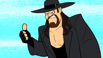 обоя мультфильмы, the flintstones, мужчина, шляпа