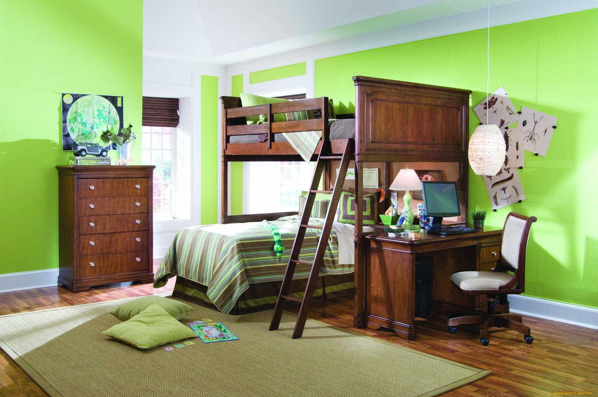 Интерьер ковры кровать  № 3537393  скачать