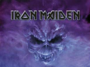 Картинка iron maiden музыка