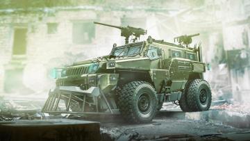 обоя техника, 3d, army