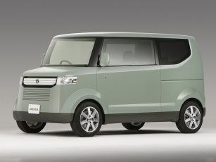 обоя honda step bus concept 2006, автомобили, honda, 2006, concept, bus, step