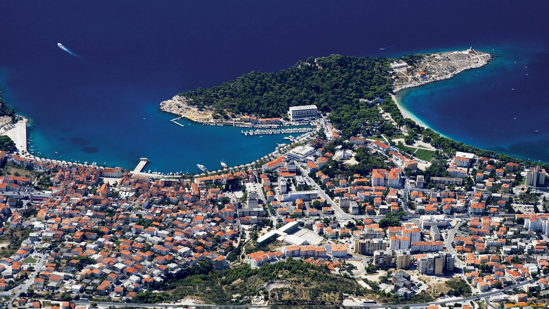 Адриатическое побережье Хорватии - главная ее достопримечательность