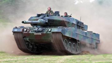 обоя leopard 2a6 heer, техника, военная техника, танк