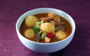обоя еда, первые блюда, мясо, суп, лук, перец, картофель