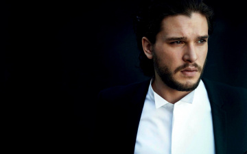 обоя мужчины, kit harington, бородка, усы
