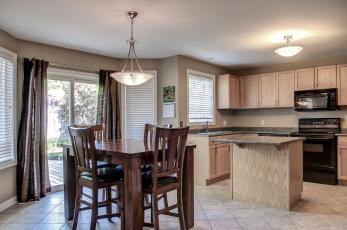 обоя интерьер, кухня, комната, мебель