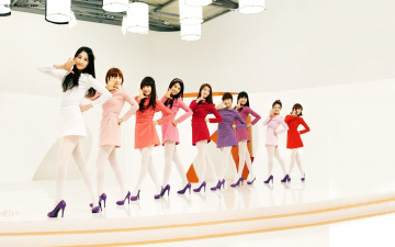 обоя музыка, girls generation , snsd, бабблгам-поп, данс-поп, фон, взгляд, девушки, молодежный, электро-поп, k-pop, поп, корея