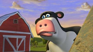 обоя мультфильмы, barnyard,  the original party, персонаж