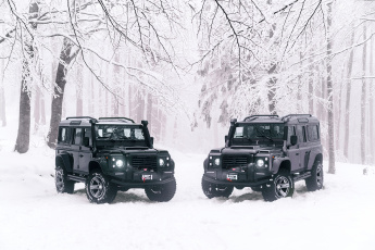 обоя ares design land rover defender 110 , 2018, автомобили, land-rover, ares, design, land, rover, defender, 110, ленд, ровер, зима, джип