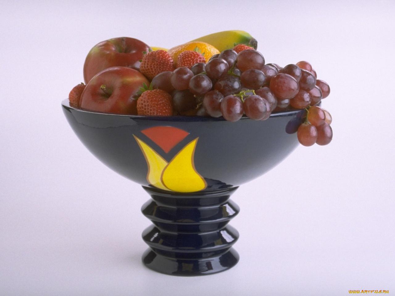 чаша с фруктами картинки