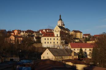 Картинка города панорамы Чехия