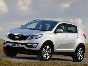 Картинка автомобили kia 2013 uk-spec ecodynamics sportage