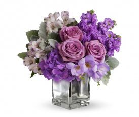 обоя цветы, букеты,  композиции, гортензия, розы, альстромерия, фрезия