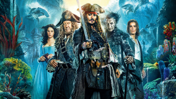 обоя кино фильмы, pirates of the caribbean,  dead men tell no tales, пираты, карибского, моря, фэнтези, приключения, pirates, of, the, caribbean, dead, men, tell, no, tales