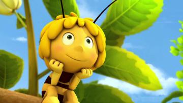 обоя maya the bee movie, мультфильмы, maya the bee – movie, пчелка, maya, the, bee, movie