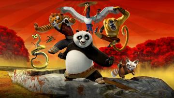 Картинка мультфильмы kung+fu+panda персонажи