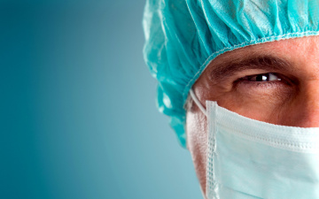 обоя разное, глаза, маска, шапочка, врач