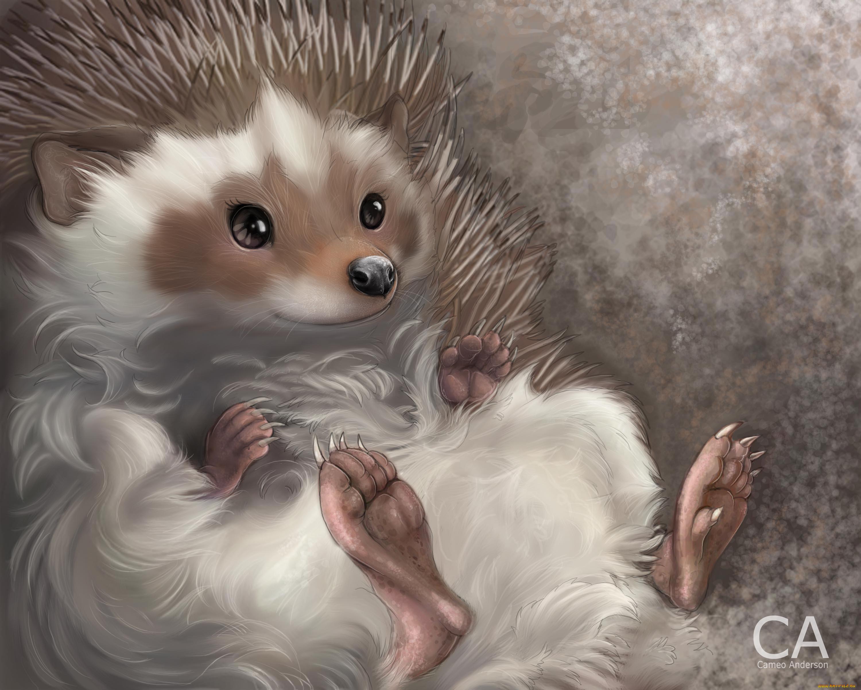 Картинки аниме животных прикольные, зайцами новый год