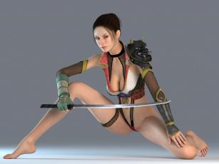 Картинка 3д графика amazon амазонки девушка меч