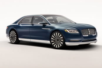 обоя lincoln continental concept, автомобили, lincoln, concept, continental, белый, фон, car