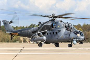 обоя mi-35m, авиация, вертолёты, вертушка