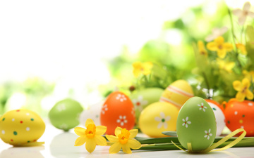 обоя праздничные, пасха, яйца