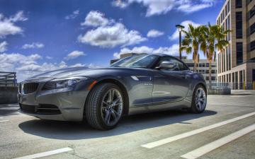 черный автомобиль BMW Z4 загрузить