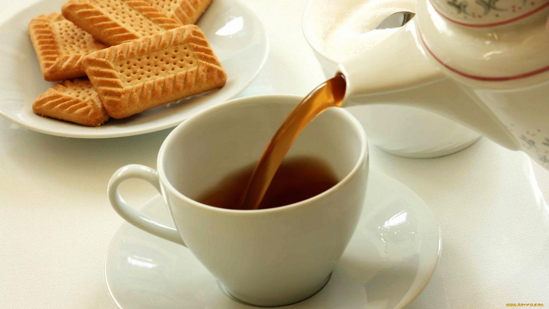 чай с печеньем без регистрации