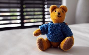 обоя разное, игрушки, медвежонок