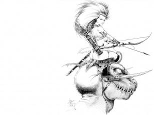 Картинка фэнтези красавицы чудовища