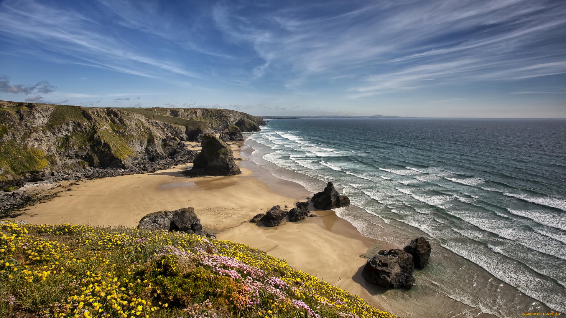Море побережье природа Мыс Соландер  № 3111677 бесплатно