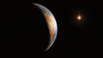 Картинка космос арт планета вселенная звезды галактика