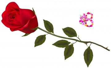 Картинка праздничные международный+женский+день+-+8+марта фон цветы роза