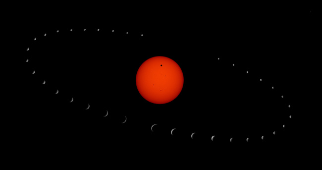 Обои картинки фото космос, солнце, планеты