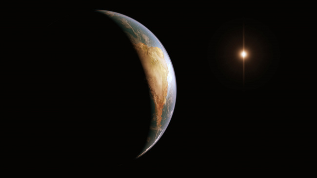 Обои картинки фото космос, арт, планета, вселенная, звезды, галактика