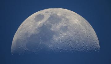 обоя космос, луна, спутник