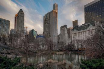обоя central park, города, нью-йорк , сша, парк