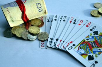 обоя разное, настольные игры,  азартные игры, монеты, карты, банкноты, фунты
