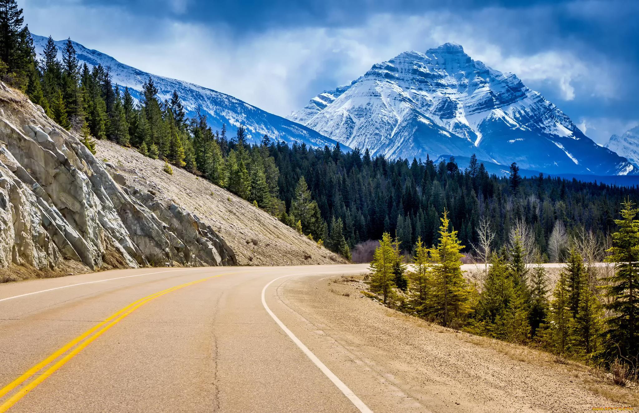 дорога лучи озеро горы без смс