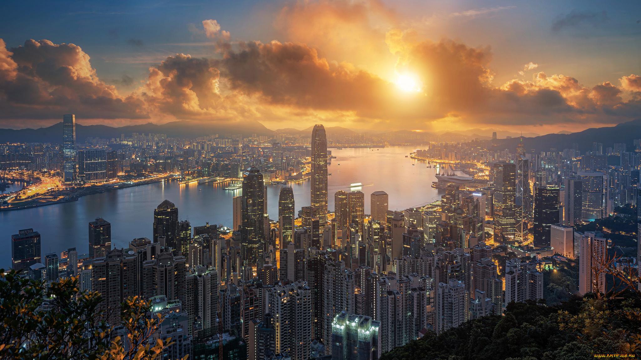 hong kong - HD2048×1152