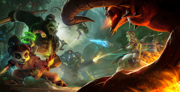 обоя видео игры, heroes of the storm, action, онлайн, ролевая, heroes, of, the, storm