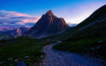 Картинка природа дороги горы margall photography дорога камни лето утро