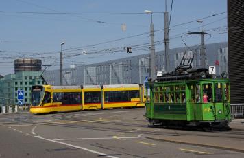 Картинка техника трамваи трамвай город рельсы