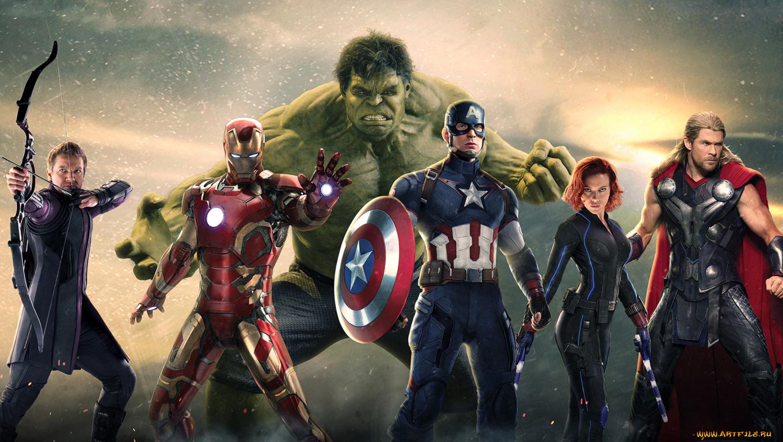 Команда Мстителей загрузить