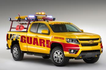 обоя 2015-chevrolet-colorado-show-truck, автомобили, chevrolet