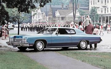 обоя 1973-chevrolet-impala, автомобили, chevrolet