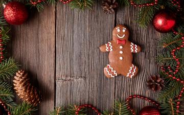 обоя праздничные, угощения, xmas, новый, год, выпечка, merry, gingerbread, сладкое, печенье, глазурь, рождество, christmas, cookies, decoration